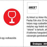 Recorder Pont kupon: ingyen ital az Ankertben!