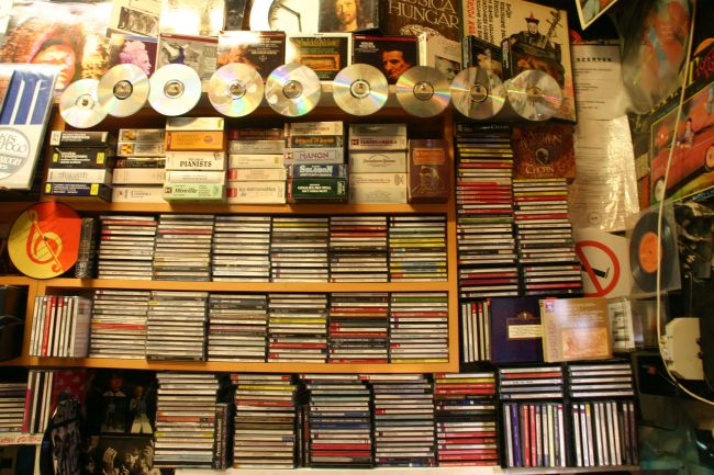 Klasszikus cd-k.