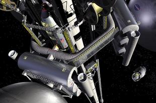 Miért nem építhető meg az űrlift?