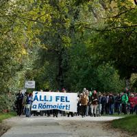 Nuszbaum Tibor: Rengetegen álltak ki a Római-partra tervezett mobilgát ellen