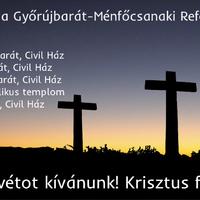 Húsvéti istentiszteleti rend - 2018