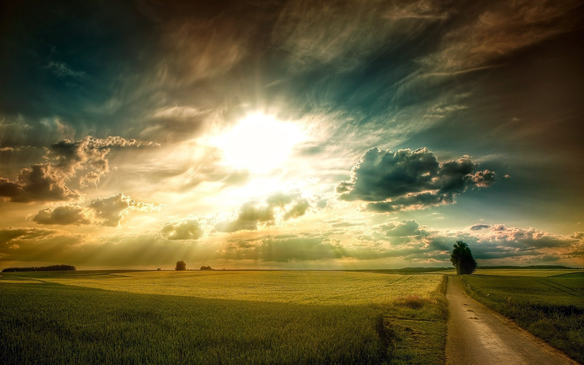 plains-landscape-grass-fields-road-tree-sky-clouds-sun-rays-1080p-wallpaper.jpg