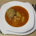 Kufte-bozbash azeri húsgombócleves