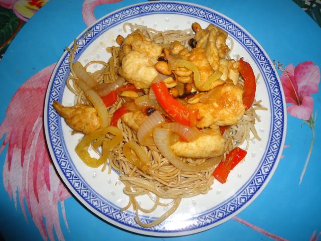 Mogyorós csirke (Gong Bao csirke)
