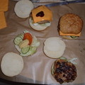 Mozarellás-túrós hamburger pogácsa