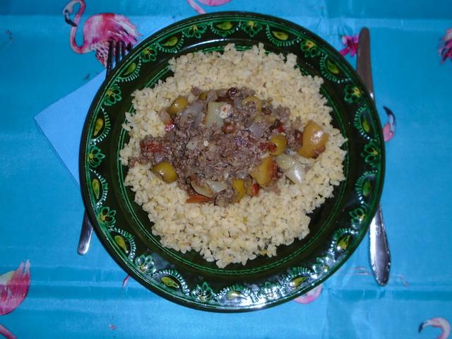 Picadillo- olívabogyós fűszeres hús 6 adag