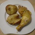 Körtés csirkecomb