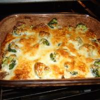 Rakott brokkoli kuszkusszal (6 adag)