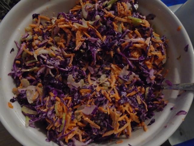 Krémes káposzta saláta (10 adag)