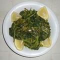 Görög hegyi füvek salátája- Ἡὁῤṫἀ (Horta)