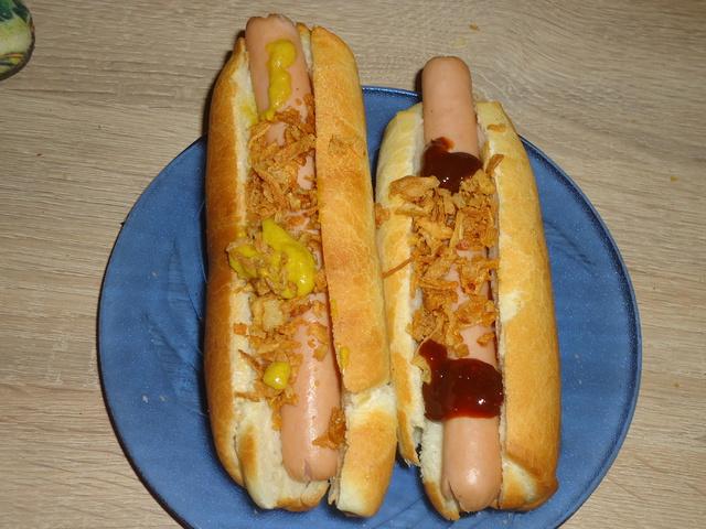 Wimpy rúd azaz hot-dog kifli