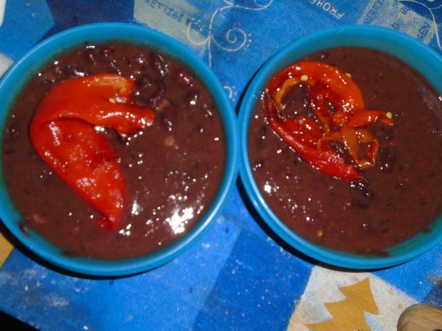 Grillezett kápiás vörösbab főzelék 4 adag