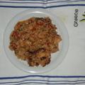 Tenger gyümölcse kapros rizsben (4 adag)