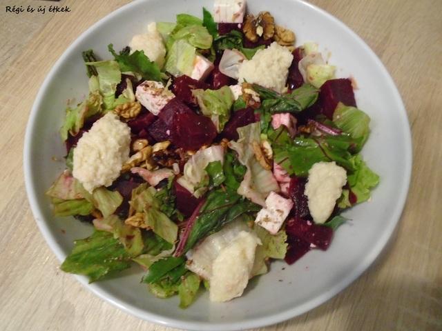 Drakula cékla salátája