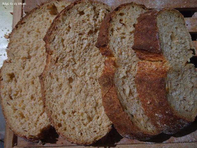 Sütőtökös kovászolt kenyér