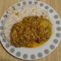 Pakisztáni csirke massala biryani rizzsel