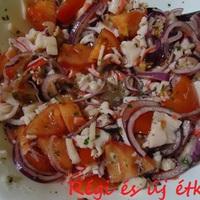 Tenger gyümölcsei saláta