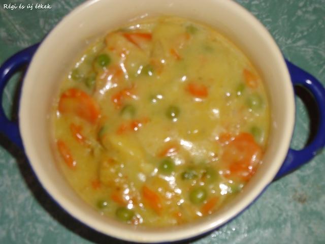 Curry finom főzelék