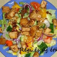 Távol-keleti jellegű saláta Feri módra