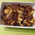 Házi zöldség chips