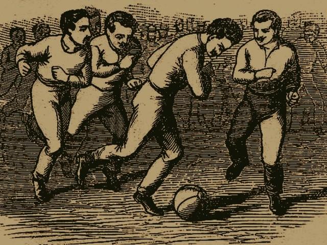 """Az első pécsi """"foot-ball"""" pályákról"""