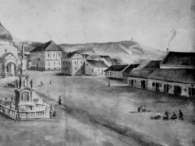 SZÉCHENYI TÉR - Fürdő, casino és színház a téren