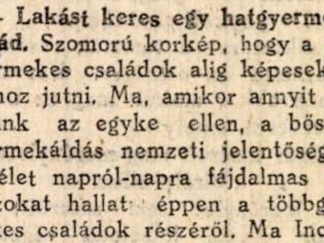 Horthy Miklós kertvárosa