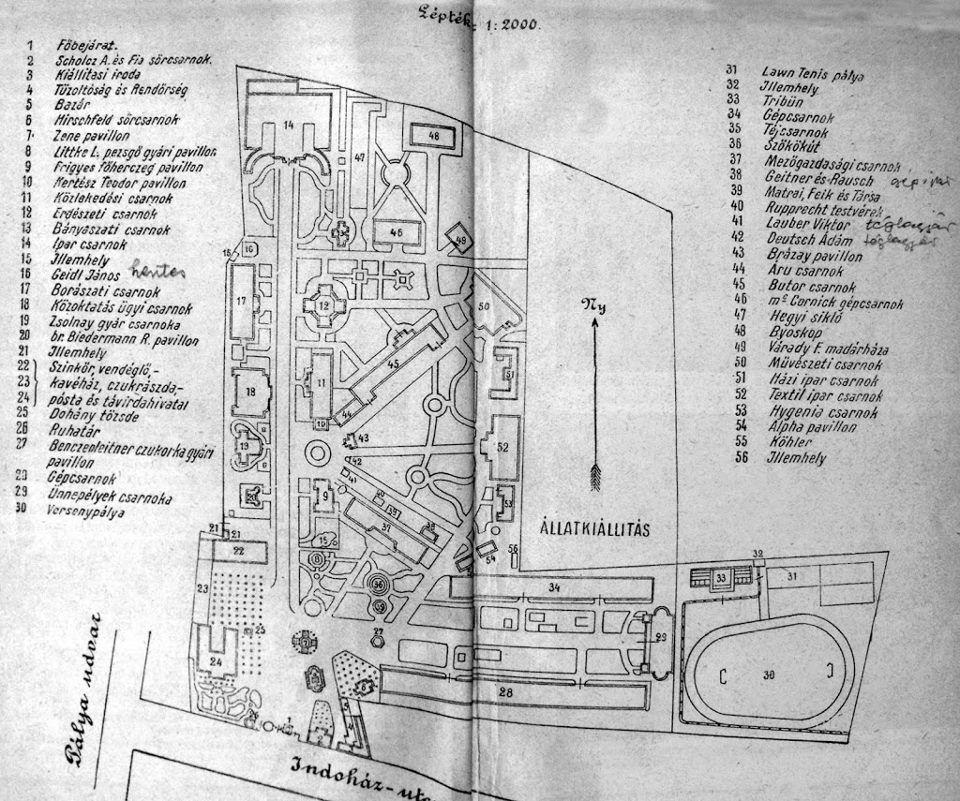 1907 Országos kiállítás és Vásár térképe.jpg