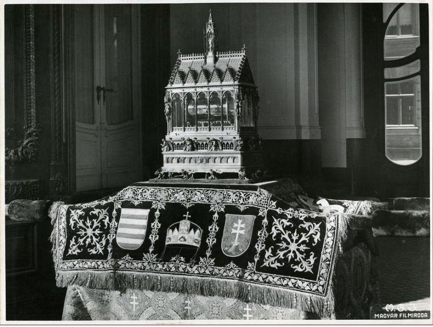 Az aranyvonat 1938-as pécsi látogatása