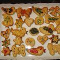 Citromos keksz - karácsonyi sütemény