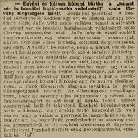 Vér és becsület - 1935. december 18. Pesti Hírlap