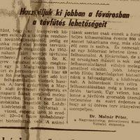1937 május 11. Képes Pesti Hírlap, 1956 május 11. Szabad Nép