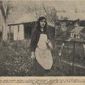 Egly Sárika 12 éves festő Nagybányáról - 1914. május 31.  - Érdekes Újság