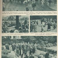 Horthy távlovaglás, négus - 1937  júni 7. Képes Pesti Hírlap
