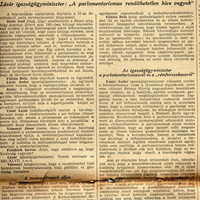 Kormányzói jogkör kiterjesztéséről és a rémhírterjesztőkről szóló tv  - Pesti Hírlap 1937 június 11