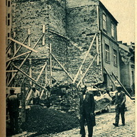 Megroggyant egy ház a Kapás utcában - 1937 június 17. Képes Pesti Hírlap
