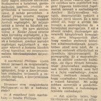 Hruscsov Amerikában - Népszava 1959. szeptember 25.
