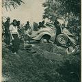 Kerékpáros gázolás - Képes Pesti Hírlap 1936. szeptember 1.