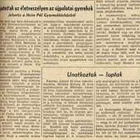 Újpalotai horror - 1972. június 6 - Népszabadság