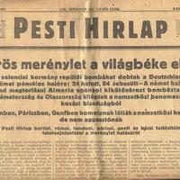 Vörös merénylet a világbéke ellen - 1937 június 1 - Pesti Hírlap
