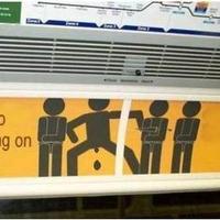 Kérjük ne szarjon a metróra!