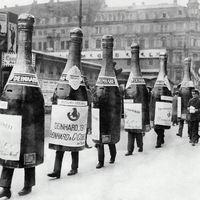 Sétáló palackok