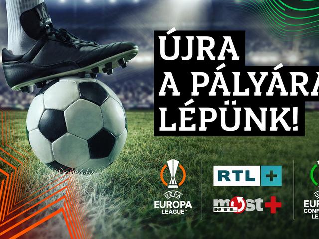 Gundel-Takács Gáborral és Gyetván Csabával is közvetít focit az RTL+