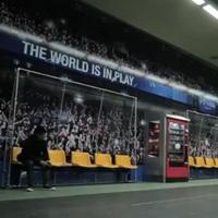 Metróállomásból stadiont
