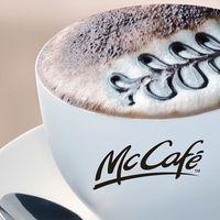 McCafé arcba, reggeli csipa ki