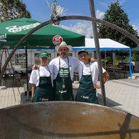 Sörgyári ünnepségen készült el a legnagyobb sörleves