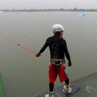 Szakadó esőben dőlt meg a wakeboardozás világrekordja