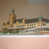 Papírból készített épület-makettek rekordja