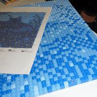 Világrekord mozaikkép LEGO-ból
