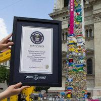 LEGO-torony világcsúcs!
